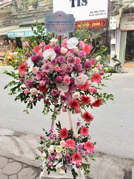 Hoa khai trương giá rẻ tại Hà Nội