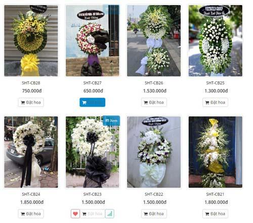 hoa chia buồn quận Bình Tân, Shop hoa tươi quận Bình Tân