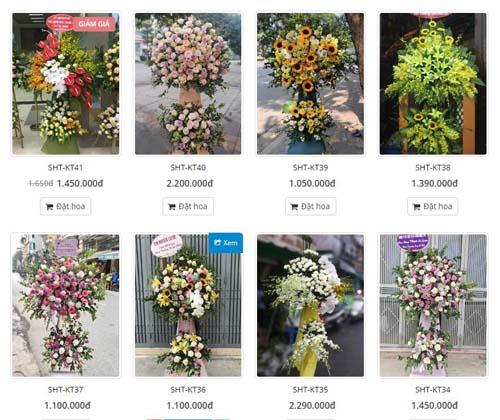 hoa khai trương quận bình Tân, Shop hoa tươi quận Bình Tân