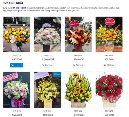 Shop hoa tươi quận Bình Thạnh giao hoa tận nơi giá từ 300k