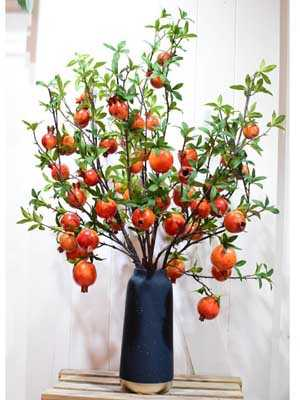 Bình hoa quả lựu tài lộc