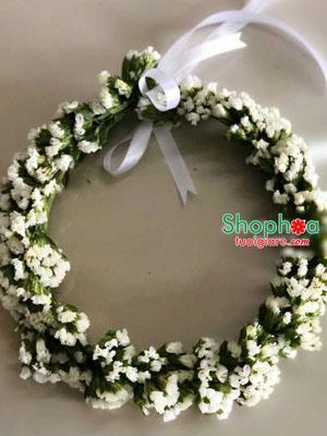 Mẫu hoa đeo cổ hoa tươi