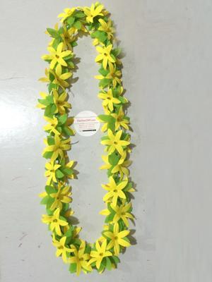 Vòng đeo cổ hoa lụa