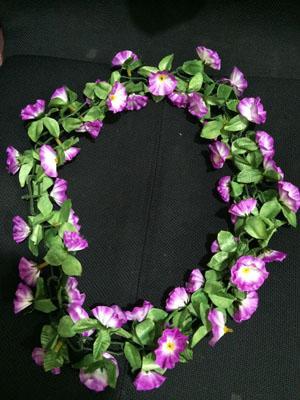 Vòng hoa lụa đeo cổ giá rẻ