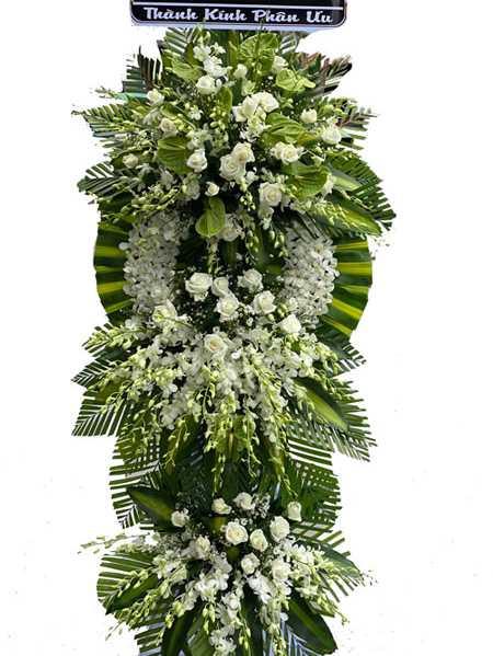 Hoa buồn nhất trong tang lễ là gì?