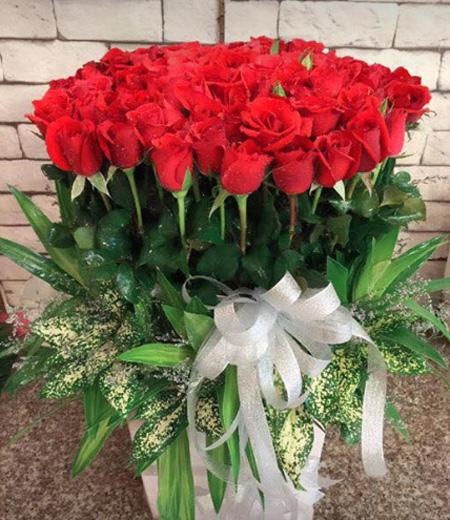 Hoa tặng vợ sinh nhật