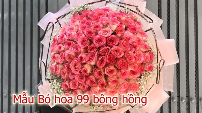Bó hoa 99 bông