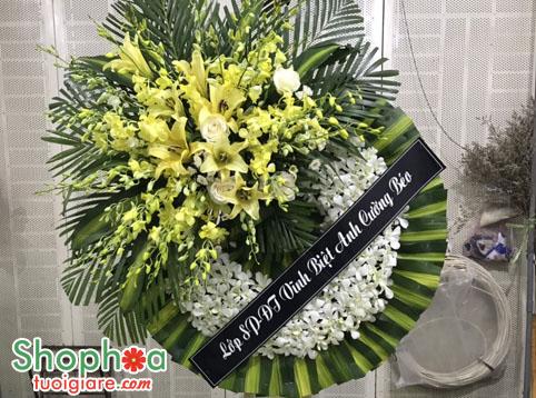 Nghi thức hoa tang lễ & ý tưởng thông từ người gửi hoa