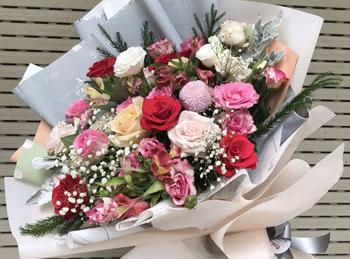Hoa tặng cung nhân mã
