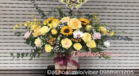 hoa tang sinh nhật