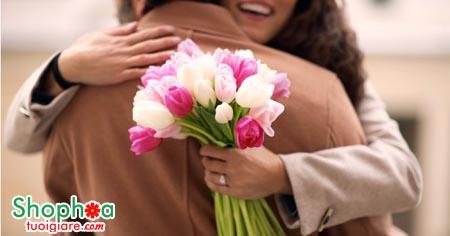 Tiết kiệm thời gian khi mua hoa online