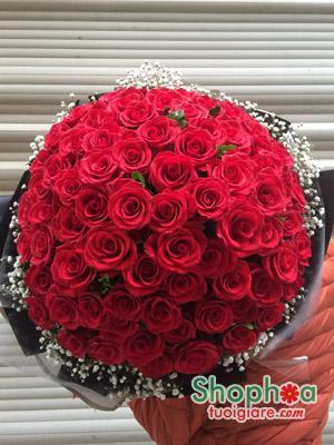 99 Rose | Bó hoa hồng 99 bông