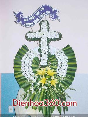 Hoa chia buồn người theo đạo Thiên Chúa