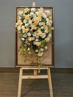 Bảng hoa giá vẽ