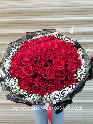 Bó hoa 99 bông hồng