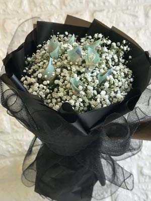 Hoa bằng tiền mệnh giá 500k