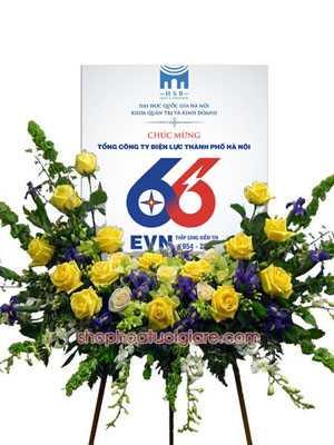 Đặt bảng hoa chúc mừng Hà Nội