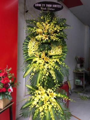 Hoa chia buồn nhà tang lễ