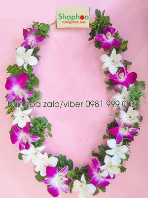 Hoa đeo cổ hoa tươi