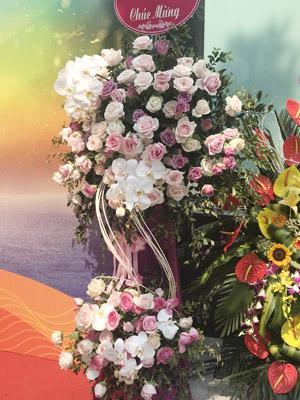 Hoa tươi khai trương hoa hồng