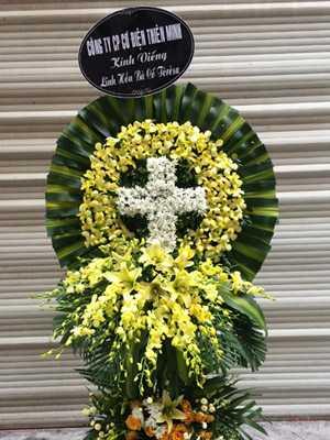Hoa viếng nhà tang lễ An Bình Quận 5