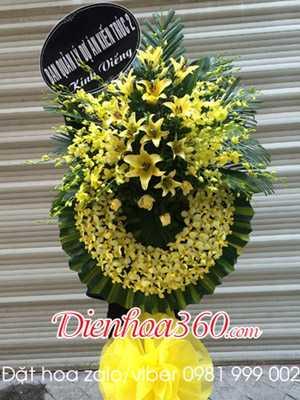 Vòng hoa đám ma nhà tang lễ An Bình