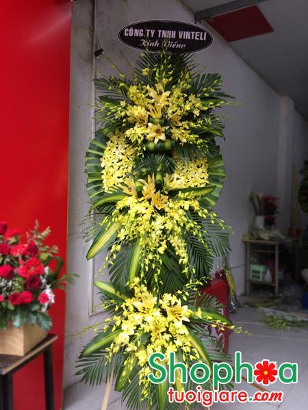 Hoa viếng tại 125 phùng hưng