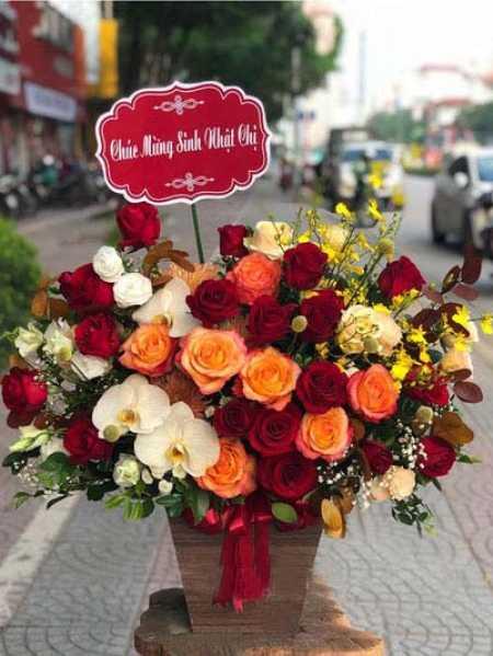 Cung Bọ Cạp nên tặng hoa gì